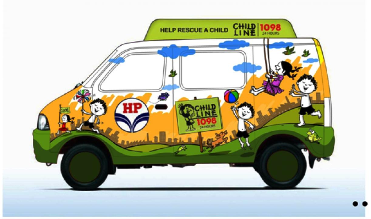 Childline Rescue Van